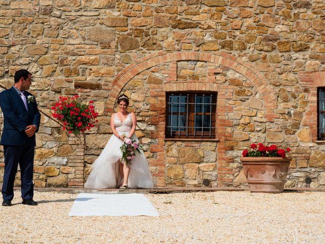 Il matrimonio di James e Alainna a Radicondoli, Siena 69