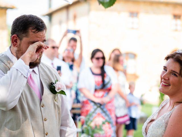 Il matrimonio di James e Alainna a Radicondoli, Siena 71