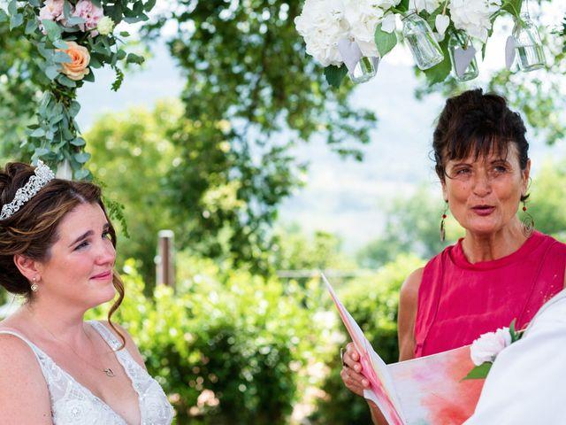 Il matrimonio di James e Alainna a Radicondoli, Siena 72
