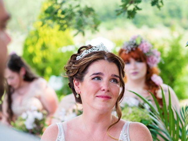 Il matrimonio di James e Alainna a Radicondoli, Siena 73