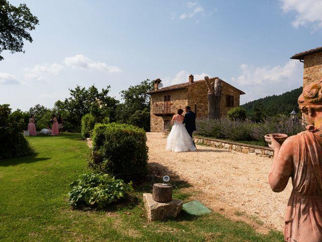 Il matrimonio di James e Alainna a Radicondoli, Siena 74