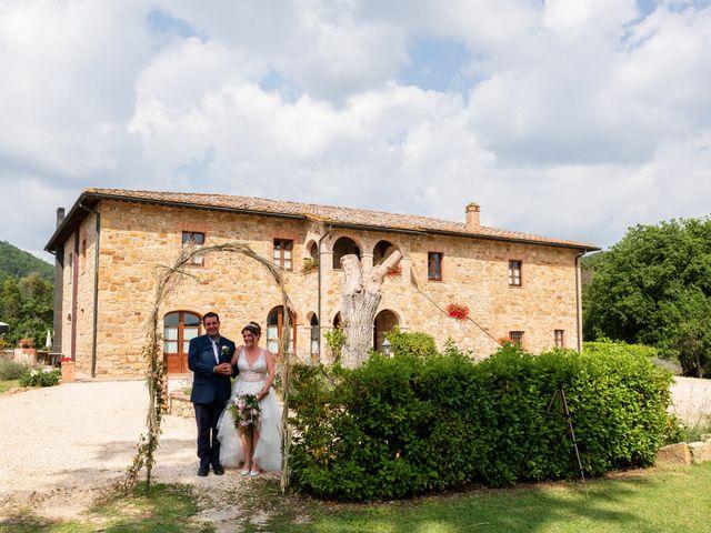 Il matrimonio di James e Alainna a Radicondoli, Siena 75