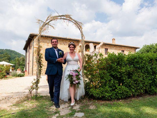 Il matrimonio di James e Alainna a Radicondoli, Siena 76