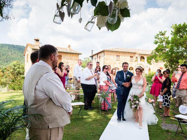 Il matrimonio di James e Alainna a Radicondoli, Siena 77