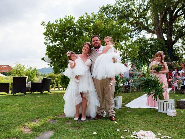 Il matrimonio di James e Alainna a Radicondoli, Siena 79