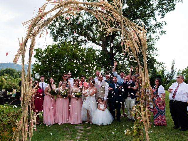 Il matrimonio di James e Alainna a Radicondoli, Siena 80
