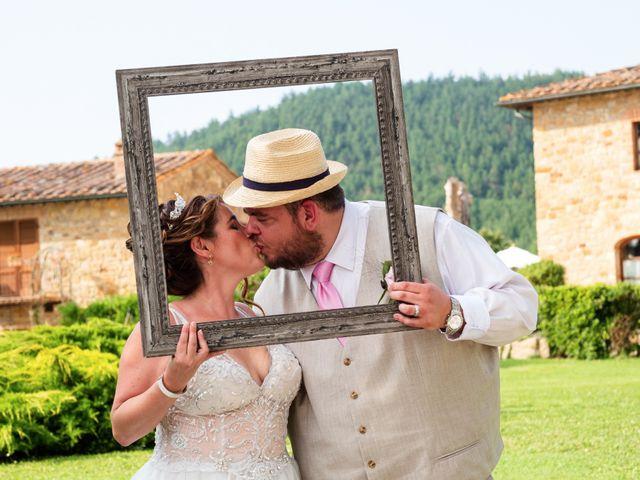 Il matrimonio di James e Alainna a Radicondoli, Siena 84