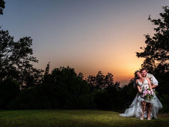 Il matrimonio di James e Alainna a Radicondoli, Siena 90