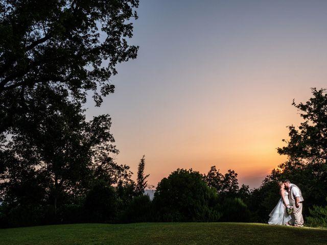 Il matrimonio di James e Alainna a Radicondoli, Siena 91