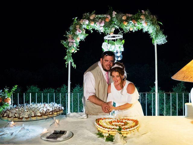 Il matrimonio di James e Alainna a Radicondoli, Siena 95