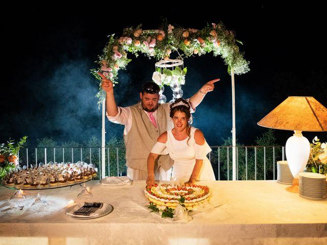 Il matrimonio di James e Alainna a Radicondoli, Siena 96