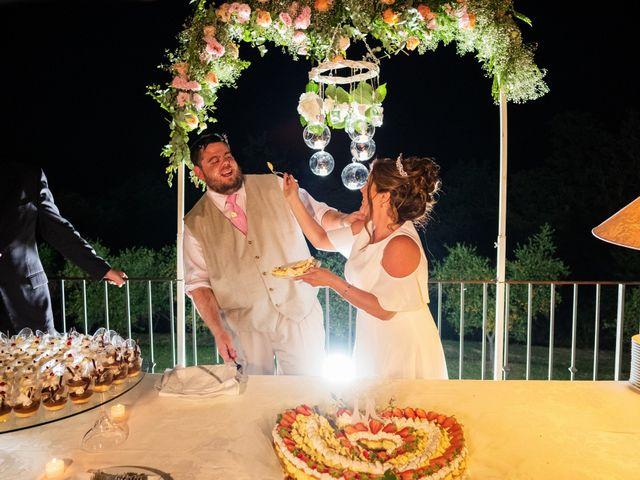 Il matrimonio di James e Alainna a Radicondoli, Siena 97