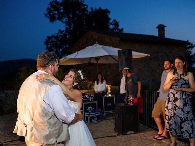 Il matrimonio di James e Alainna a Radicondoli, Siena 99