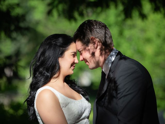 le nozze di Megan e Chris