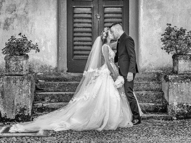 le nozze di Lucia e Gianluca
