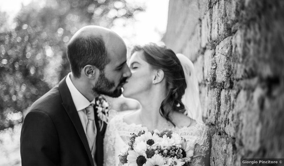 Il matrimonio di Claudio e Maria Vittoria a Gallese, Viterbo