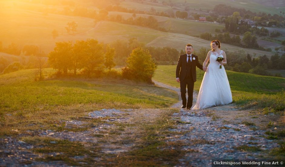 Il matrimonio di Alfonso e Cinzia a Lesignano de' Bagni, Parma