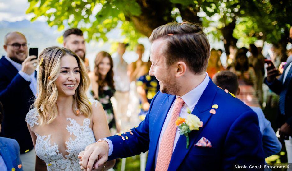 Il matrimonio di Anthony e Harriet a Baveno, Verbania