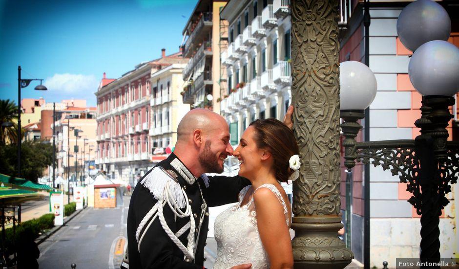 Il matrimonio di Lorenzo e Francesca a Castellammare di Stabia, Napoli