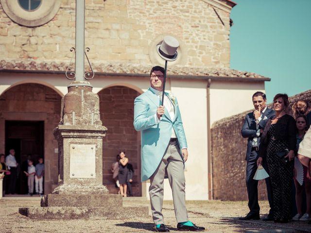 Il matrimonio di Michele e Elena a Castiglion Fiorentino, Arezzo 22