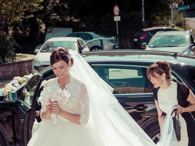 Il matrimonio di Michele e Elena a Castiglion Fiorentino, Arezzo 25