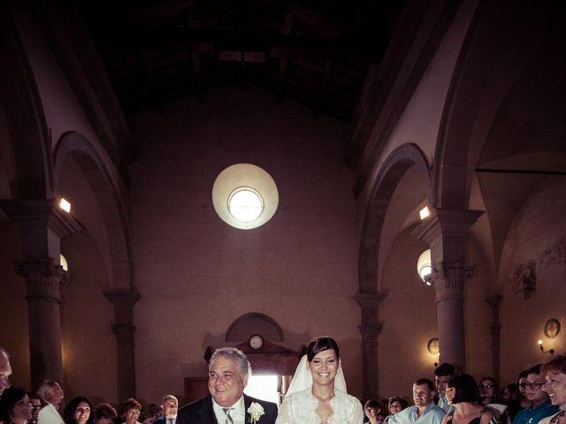 Il matrimonio di Michele e Elena a Castiglion Fiorentino, Arezzo 27