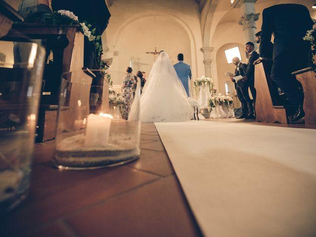 Il matrimonio di Michele e Elena a Castiglion Fiorentino, Arezzo 29