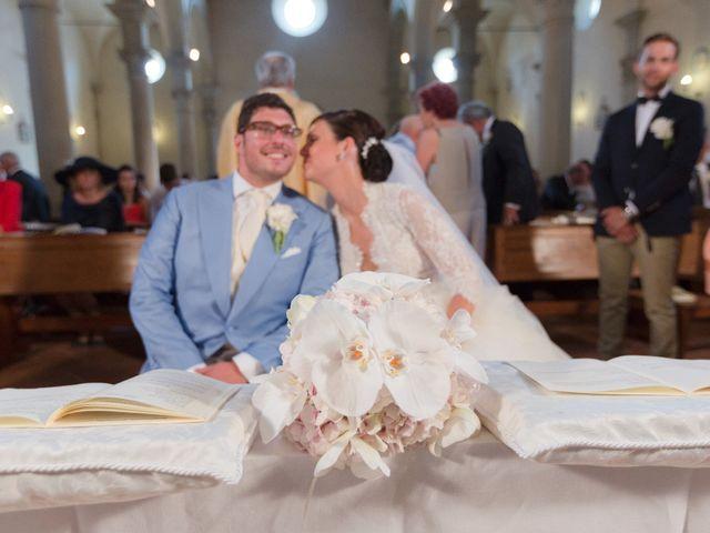 Il matrimonio di Michele e Elena a Castiglion Fiorentino, Arezzo 34