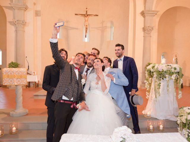 Il matrimonio di Michele e Elena a Castiglion Fiorentino, Arezzo 36