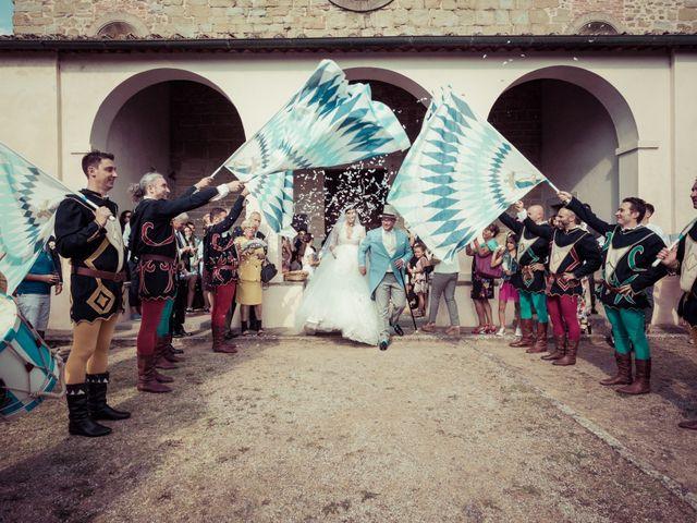 Il matrimonio di Michele e Elena a Castiglion Fiorentino, Arezzo 38