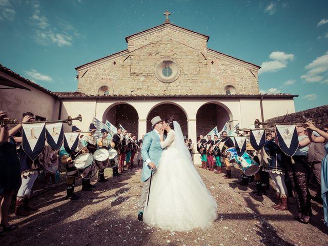 Il matrimonio di Michele e Elena a Castiglion Fiorentino, Arezzo 39
