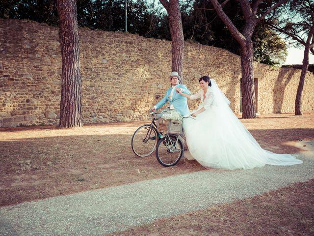 Il matrimonio di Michele e Elena a Castiglion Fiorentino, Arezzo 46