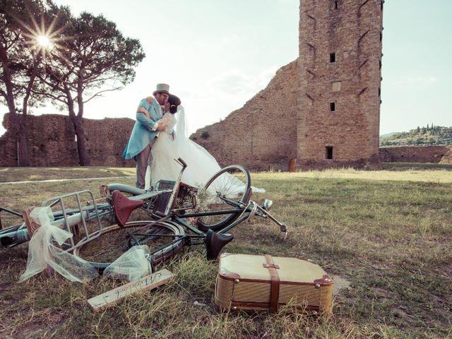 Il matrimonio di Michele e Elena a Castiglion Fiorentino, Arezzo 51
