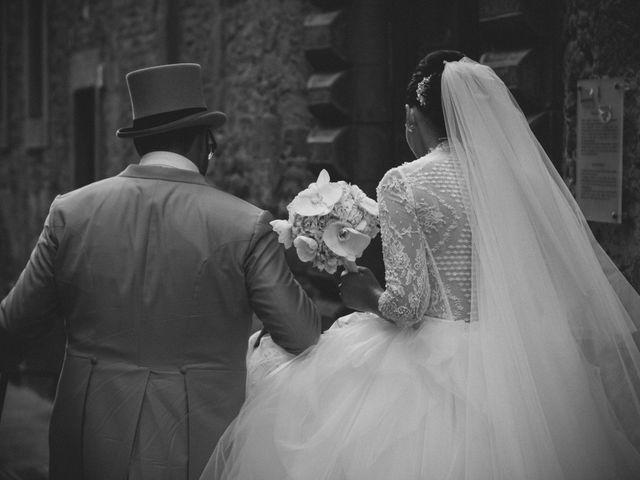 Il matrimonio di Michele e Elena a Castiglion Fiorentino, Arezzo 57