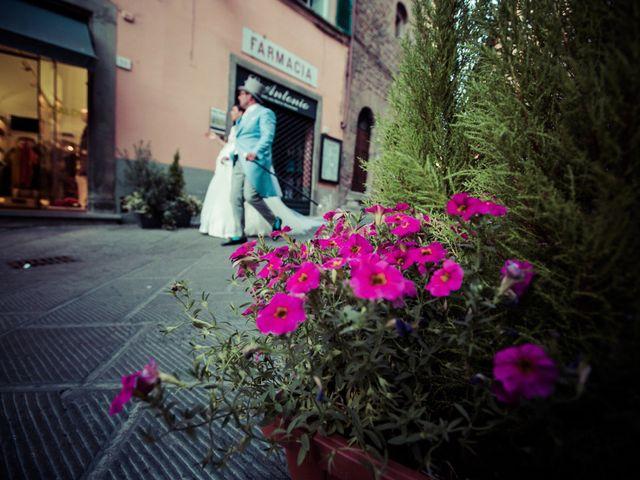 Il matrimonio di Michele e Elena a Castiglion Fiorentino, Arezzo 58