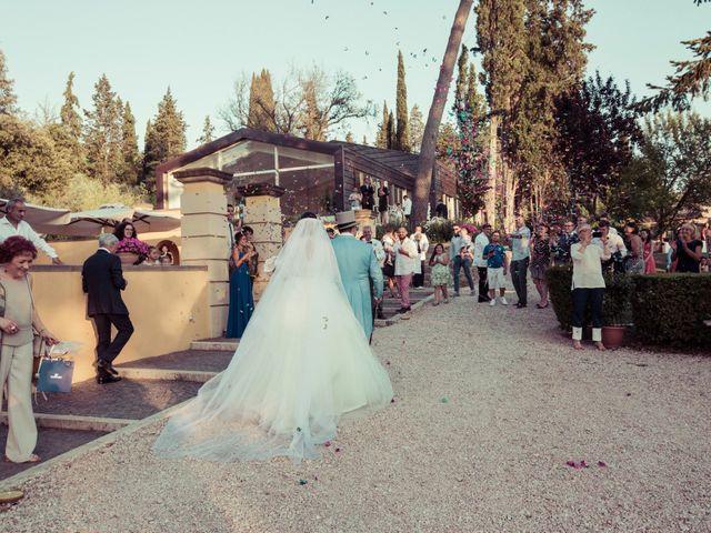 Il matrimonio di Michele e Elena a Castiglion Fiorentino, Arezzo 61
