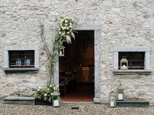 Il matrimonio di Lorenzo e Federica a Albavilla, Como 4
