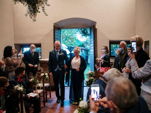 Il matrimonio di Lorenzo e Federica a Albavilla, Como 8
