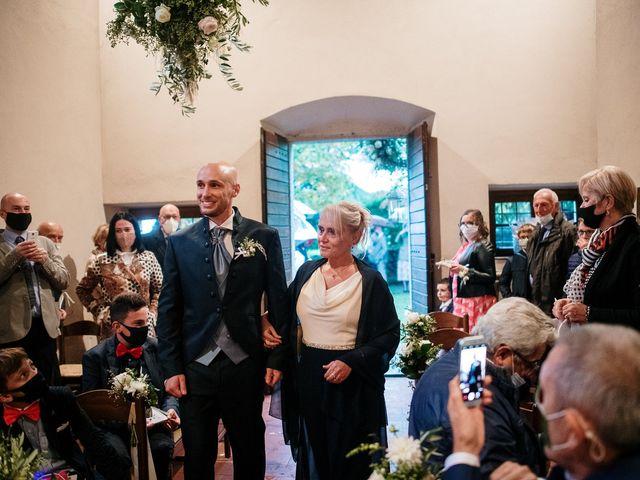Il matrimonio di Lorenzo e Federica a Albavilla, Como 9