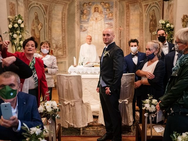 Il matrimonio di Lorenzo e Federica a Albavilla, Como 16