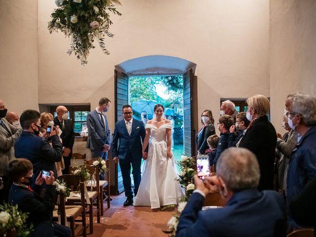 Il matrimonio di Lorenzo e Federica a Albavilla, Como 17