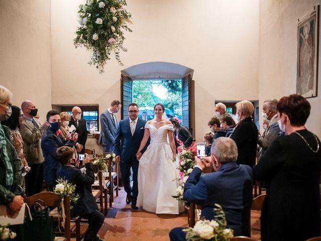 Il matrimonio di Lorenzo e Federica a Albavilla, Como 18