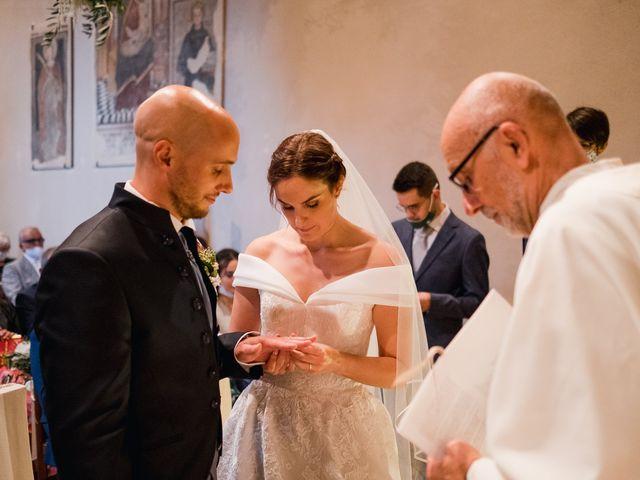 Il matrimonio di Lorenzo e Federica a Albavilla, Como 25