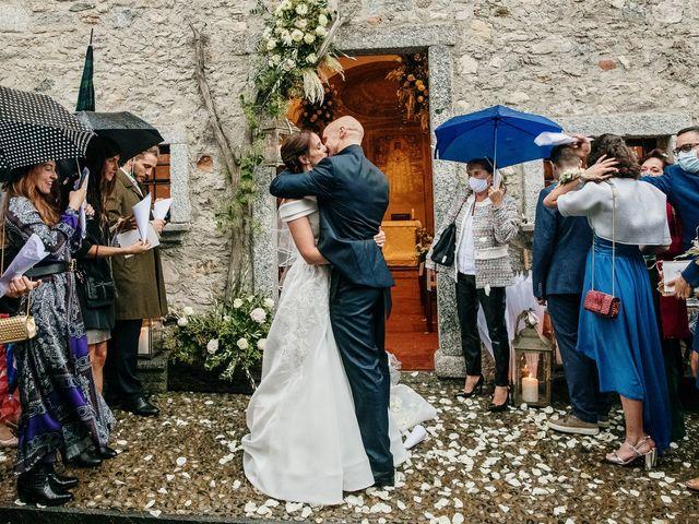 Il matrimonio di Lorenzo e Federica a Albavilla, Como 30