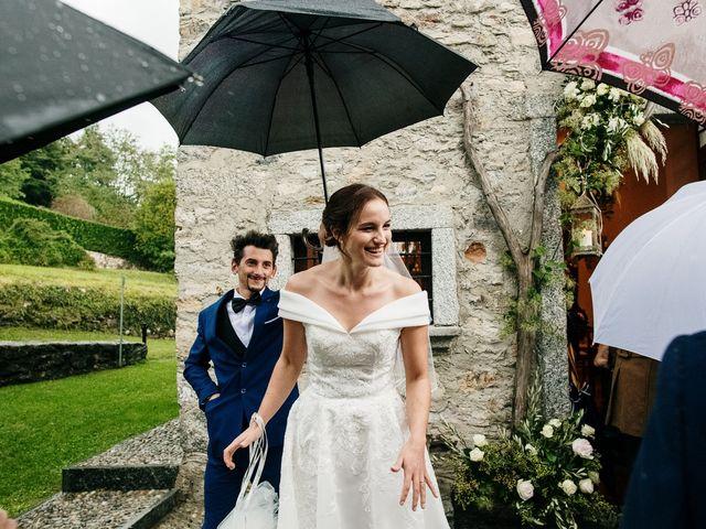 Il matrimonio di Lorenzo e Federica a Albavilla, Como 31