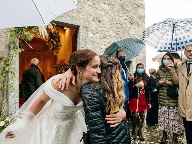 Il matrimonio di Lorenzo e Federica a Albavilla, Como 34