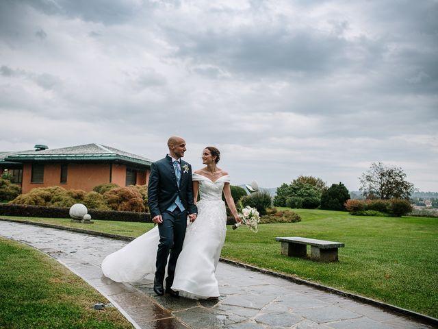 Il matrimonio di Lorenzo e Federica a Albavilla, Como 65