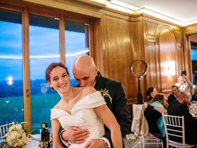 Il matrimonio di Lorenzo e Federica a Albavilla, Como 79