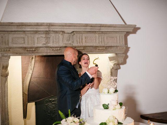 Il matrimonio di Lorenzo e Federica a Albavilla, Como 87