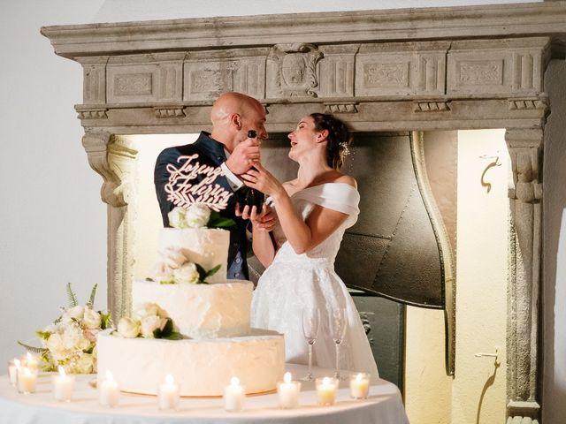 Il matrimonio di Lorenzo e Federica a Albavilla, Como 88
